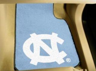 """North Carolina """"Baby Blue"""" Carpet Car Mats Clothing"""