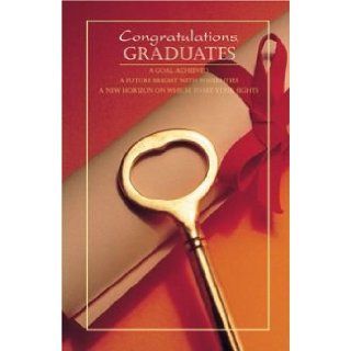 "Church Bulletins/programs/covers (Graduation, Standard 11"" Congratulations Graduate): Warner Press: Books"