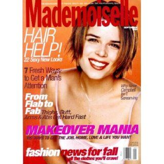 Mademoiselle Magazine   September 1998   Neve Campbell Cover Elizabeth Crow Books