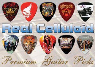 Aerosmith Premium Guitar Picks X 10 (TR) Musical Instruments