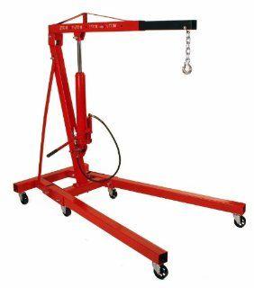 2 Ton Folding Air Hydraulic Cherry Picker Shop Press Engine Crane Hoist Lift Automotive