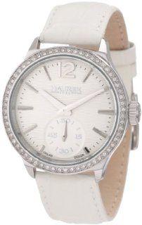 Haurex Italy Women's FS341DSS Grand Class Crystal Bezel Sub second leather Watch at  Women's Watch store.