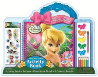 Disney Fairies Tinkerbell Fairy Magic Sticker, Paint and Draw Set Toys & Games