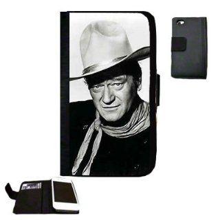 John Wayne Fabric iPhone 5 Wallet Case Great Gift Idea