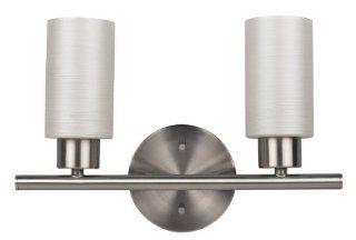 CANARM LTD. IVL359A02BPT Margo 2 Bulb Vanity Light, Brushed Pewter   Vanity Lighting Fixtures