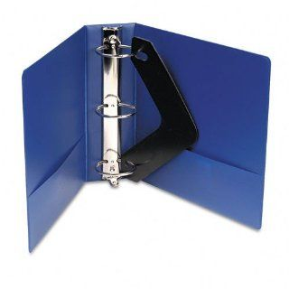 """Wilson Jones 368 Line Basic Round Ring Binder with Color Label Sleeves, 3"""" Capacity, 8.5"""" x 11"""" Sheet Size, Blue (W368 49NHBLA)"""