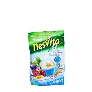 Nesvita Low Sugar mixed fiber 364 grams of dietary fiber mixed with spinach and Apple less sugar cereal, canned drinks regular formula whole grains rice or milled corn low fat no cholesterol Beverages Instant Drink : Powdered Soft Drink Mixes : Grocery &am