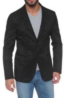 Emporio Armani Jacket Blazer Sack Coat DOMENICO, Color: Black, Size: 58 at  Men�s Clothing store