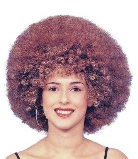 Beyonce Female Afro Fancy Dress Wig Inc FREE Wig Cap: Toys & Games