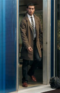 John Varvatos Star USA Rain Slicker, Shirt & Tie