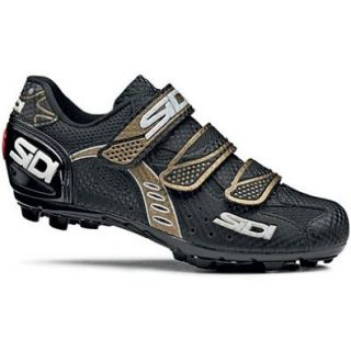 Sidi Bullet 2 Mesh Women's Mountain Bike Shoes   Black/Bronze (43): Shoes