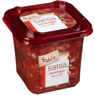 Sabra Medium Homestyle Salsa, 24 oz Condiments, Sauces & Spices