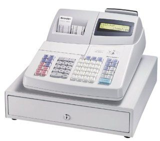 Sharp XE A401 2 Line Alpha numeric Backlite LCD Display, Thermal Printing Cash Register : Electronic Cash Registers : Electronics