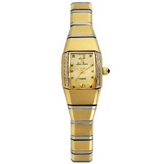 "Lucien Piccard Women's 1B 405 ""Allure Angel"" Petit Bangle Diamond Watch at  Women's Watch store."