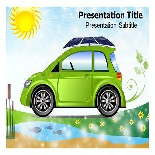 Solar Car PowerPoint Templates   PowerPoint (PPT) Presentation Backgrounds on Solar Car Software