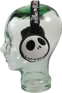 Nightmare Before Christmas Jack Skellington Black Ear Muffs at  Men�s Clothing store: Cold Weather Earmuffs
