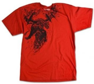 World of Warcraft Deathwing Shattered Premium Mens Shirt Size Small Novelty T Shirts Clothing