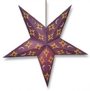 Star Lights   Sun and Moon Paper Star Lamp/Lantern   Novelty Lamps