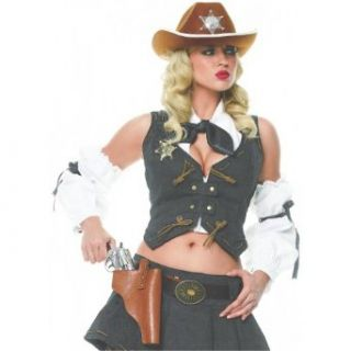 Sheriff Kit Costume Accessory Set: Clothing
