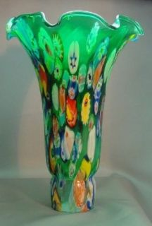 """Meyda Dale Tiffany Style Pond Lily Flower Glass Replacement Lamp Shade Peacock Multi Color (Large Size) 4.5"""" Wide X 6"""" Tall X 1.5"""" Fitter for Meyda Dale Pond Lilly Globe Bulb Lamps   Lampshades"""