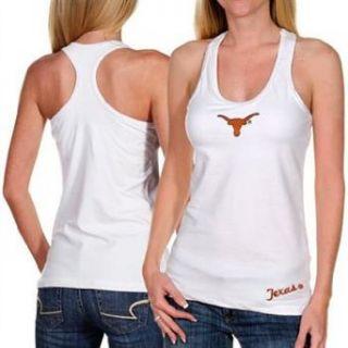 Texas Longhorns Womens Fit Workout Tank Top Shirt   XL Clothing