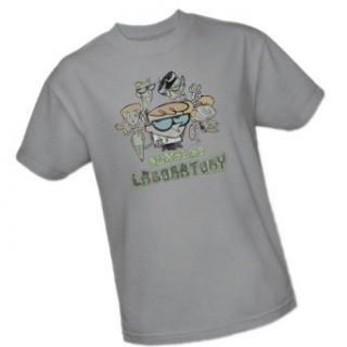 Vintage Cast    Dexter's Laboratory    Cartoon Network Youth T Shirt Movie And Tv Fan T Shirts Clothing