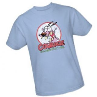 Vintage    Courage The Cowardly Dog    Cartoon Network Adult T Shirt: Clothing