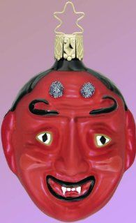 DA DEVIL Satan Halloween Ornament Inge Germany NEW   Decorative Hanging Ornaments