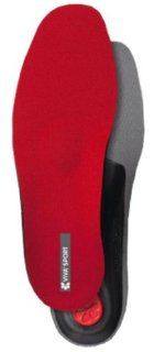 Pedag Viva Sport Semi Rigid Orthotic for Impact Sports with Met Pad and Heel Cushion, Red, EU 45/US M12 Health & Personal Care