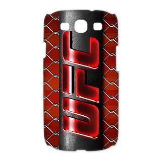 Custom UFC 3D Cover Case for Samsung Galaxy S3 III i9300 LSM 3679: Cell Phones & Accessories