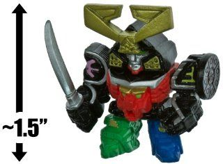 "Samurai Megazord ~1.5"" Mini Figure + 3 Trading Card: Power Rangers Samurai Trading Figure + Card Series: Toys & Games"