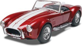 Revell Monogram Shelby Cobra 427 Plastic Model Kit: Toys & Games