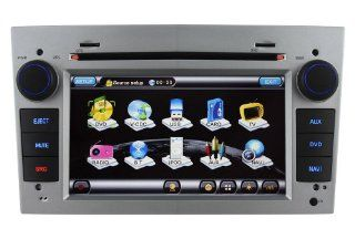 """Koolertron For OPEL (Astra, Antara, Corsa, Zafira) / VAUXHALL (Astra, Antara, Corsa) / HOLDEN (Astra, Captiva) / SATURN Astra / BUICK Sail / CHEVROLET (Astra, Corsa) / In Dash 7"""" Digital HD Touch screen DVD player with GPS Navigation (OEM Factory Styl"""
