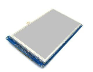"""Happy Store 7"""" Touch Screen LCD Module Apply for 51 AVR MSP430 DSP ARM STM32 PIC: Computers & Accessories"""