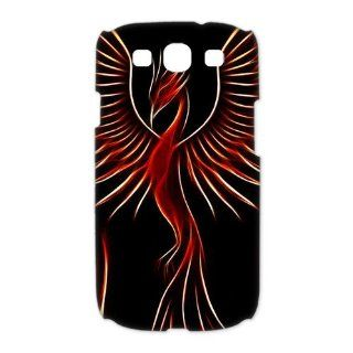Custom Red Phoenix 3D Cover Case for Samsung Galaxy S3 III i9300 LSM 2958: Cell Phones & Accessories