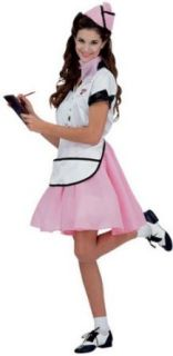 50s Diner Waitress Costume   Standard: Adult Sized Costumes: Clothing