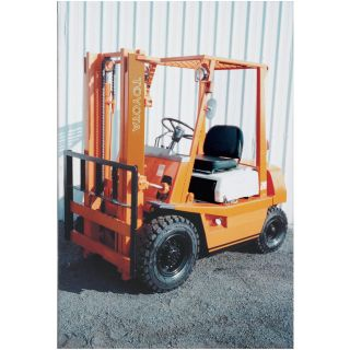HYSTER Reconditioned Forklift — 3 Stage with Side Shift, 4000-lb. Capacity, 1997-2003  Forklifts