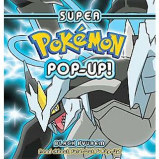 Super Pokemon Pop up Black Kyurem (Hardcover)