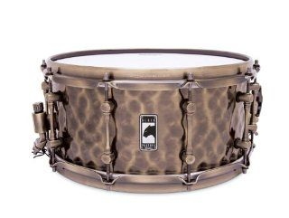 Mapex BLACK PANTHER BPBR465HZN 14 Inch Snare Drum Hammered Brass: Musical Instruments