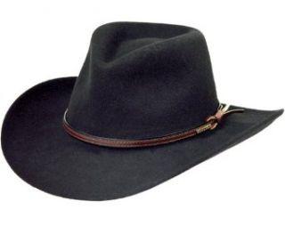 d4598c6f0b1 ... Stetson Men s Bozeman Wool Felt Crushable Cowboy Hat at Men s Clothing  store  ...