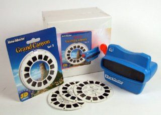 Grand Canyon 2 ViewMaster Gift Set   Viewer and 3 Reel Set   Images in 3D Toys & Games