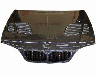 VIS Racing 02BME464DGTR 010C   Bmw 3 Series E46 4Dr Gtr Carbon Fiber Hood Automotive