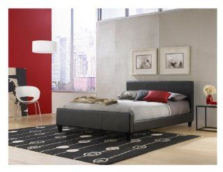 Leggett & Platt Fashion Bed Group Euro Platform Bed, Queen, Black: Home & Kitchen