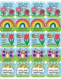 Teacher Created Resources Children's Ten Commandments Stickers, Multi Color (7002)