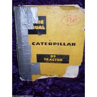 Caterpillar D9 Tractor OEM Service Manual (66A1 up) Caterpillar D9 Books