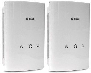 D Link PowerLine Adapter AV500 Gigabit Mini Starter Kit (DHP 501AV): Electronics
