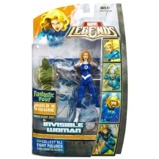 Marvel Legends Fantastic Four Build A Figure Invisible Woman Ronan The Accuser Series: Toys & Games