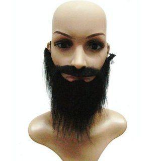 Estone Funny Costume Fancy Party Halloween Fake Beard Moustache Mustache Facial Hair: Clothing