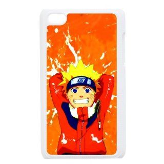 Ipod Touch 4 Case Colorful Printing Back Cover For Ipod 4 Naruto Cool Animation Style 02 Cell Phones & Accessories