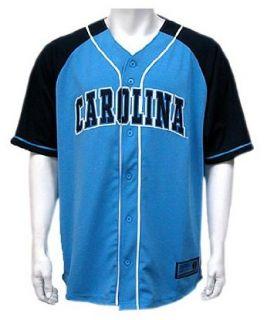 North Carolina Youth Grand Slam Baseball Jersey, Light Blue, X Large  Sports Fan Baseball And Softball Jerseys  Clothing